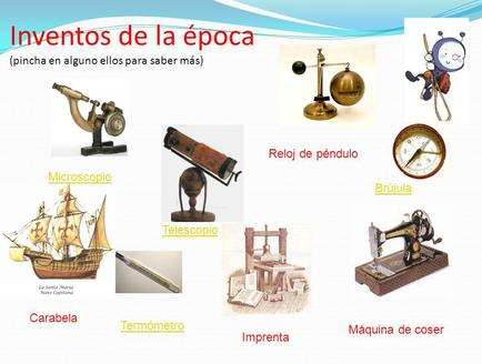 4 inventos de la edad moderna